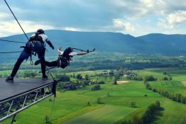 Kostrzyca Atrakcja Dream Jump GIANT TOWER KOSTRZYCA K. KARPACZA 100M